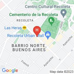 Karte DAZZLER RECOLETA