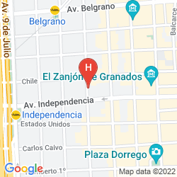 Karte PATIOS DE SAN TELMO