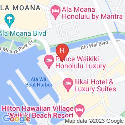 Karte WAIKIKI MARINA HOTEL
