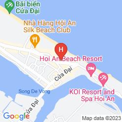 Karte HOI AN BEACH RESORT