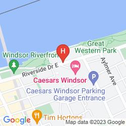 Karte CAESARS WINSOR
