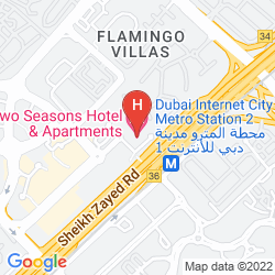 Karte TWO SEASONS HOTEL & APARTMENTS