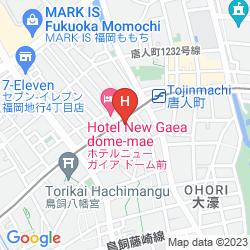 Karte HEIWADAI HOTEL 5