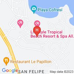 Karte LIFESTYLE VITALIS GARDEN CLUB