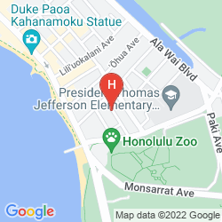 Karte EWA HOTEL WAIKIKI