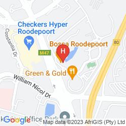 Karte PROTEA HOTEL ROODEPOORT