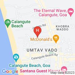 Karte HOTEL GERMANY BEACH RESORT