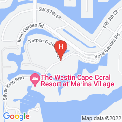Karte THE WESTIN CAPE CORAL RESORT AT MARINA VILLAGE
