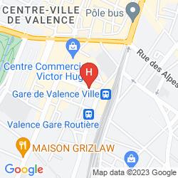 Karte DE LYON