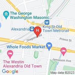 Karte EMBASSY SUITES ALEXANDRIA - OLD TOWN