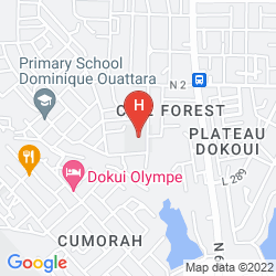 Karte HEDEN GOLF