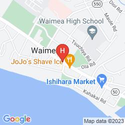 Karte WAIMEA PLANTATION COTTAGES