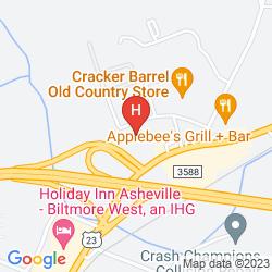 Karte RED ROOF INN ASHEVILLE #146