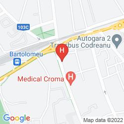 Karte PENSIUNEA LUIZA