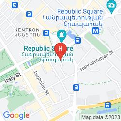 Karte HOTEL EREBUNI