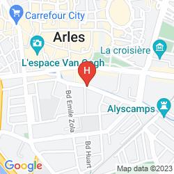 Karte BEST WESTERN ATRIUM