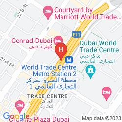 Karte VOCO DUBAI