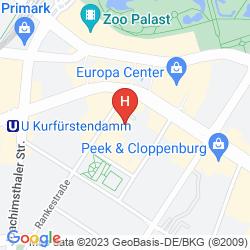 Karte STEIGENBERGER AIRPORTHOTEL BERLIN BRANDENBURG