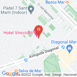 Karte VINCCI BIT HOTEL BARCELONA