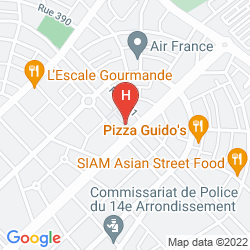 Karte AZALAI  HOTEL NORD SUD