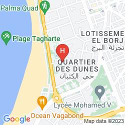 Karte RIAD ZAHRA