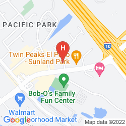 Karte B/W SUNLAND PARK INN