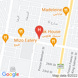 Karte GOLDEN ROSE AL KHOBAR