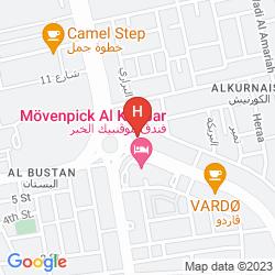Karte MOVENPICK ALKHOBAR (DLX)