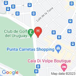 Karte TRYP MONTEVIDEO HOTEL