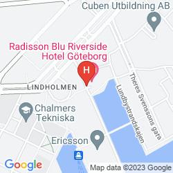 Karte RADISSON BLU RIVERSIDE HOTEL