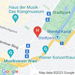 Karte THE RITZ-CARLTON, VIENNA