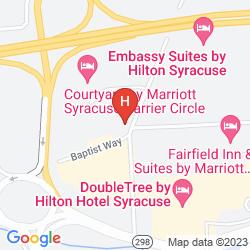 Karte BEST WESTERN PLUS EAST SYRACUSE INN