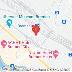 Karte STAR INN HOTEL BREMEN COLUMBUS