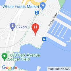 Karte SHERATON LINCOLN HARBOR