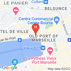 Karte LA RESIDENCE DU VIEUX PORT
