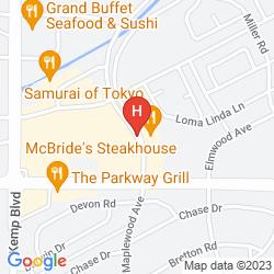 Karte BEST WESTERN PLUS UNIVERSITY INN & SUITES