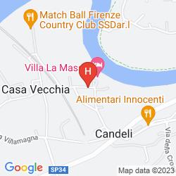 Karte VILLA LA MASSA