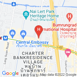 Karte SIVATEL BANGKOK