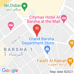 Karte CORAL DUBAI AL BARSHA