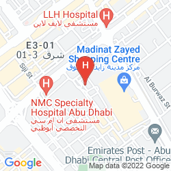 Karte PARAGON HOTEL