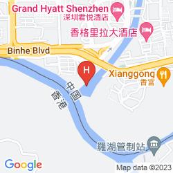 Karte GUANGSHENG INTERNATIONAL HOTEL