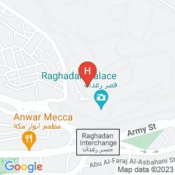 Karte FIRAS PALACE AMMAN