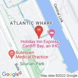 Karte NOVOTEL CARDIFF CENTRE