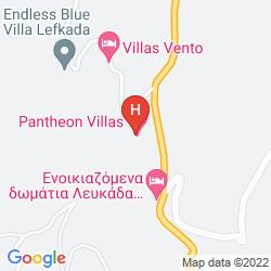 Karte PANTHEON VILLAS