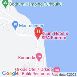 Karte KUUM HOTEL & SPA