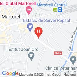 Karte CIUTAT MARTORELL