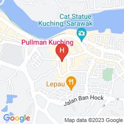 Karte PULLMAN KUCHING