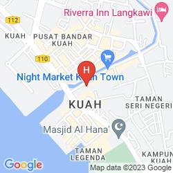 Karte MY HOTEL LANGKAWI