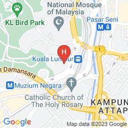 Karte THE MAJESTIC HOTEL
