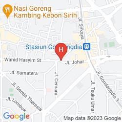Karte CEMARA HOTEL